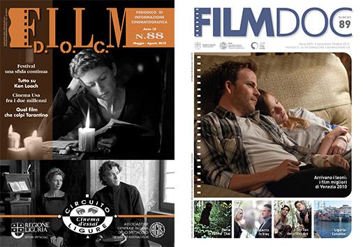 Cambio copertina FilmDOC
